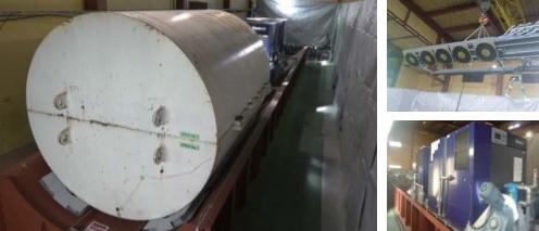 実証試験のための定置・回収装置の製作